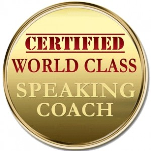 David P. Otey is a Certified World Class Speaking Coach